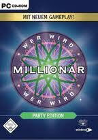 Wer wird Millionär - Party Edition Cover